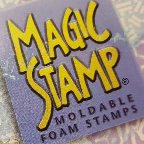 Packaging for magic stamp